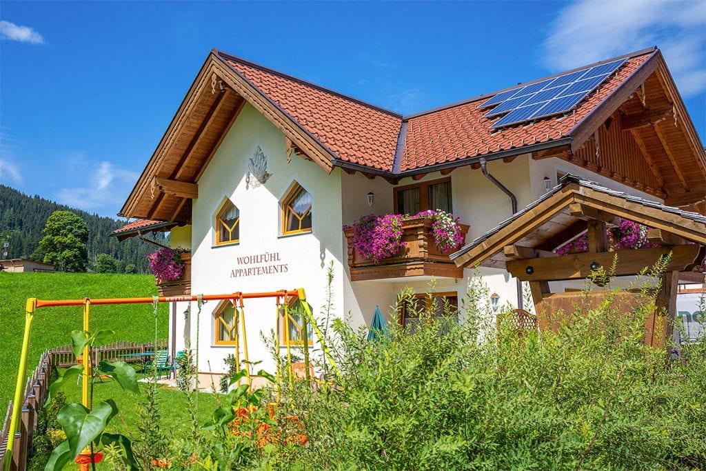Sommerurlaub in Flachau, Flachauer Bergkristall, Salzburger Land
