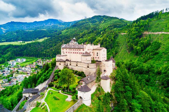 Burg Hohenwerfen – Ausflugsziele im Salzburger Land