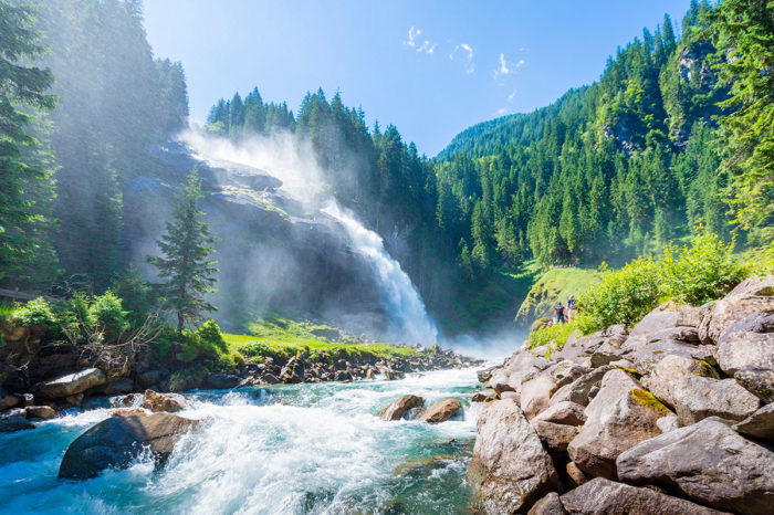 Krimmler Wasserfälle – Ausflugsziele im Salzburger Land