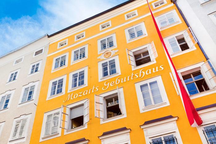 Mozart Geburtshaus – Ausflugsziele im Salzburger Land
