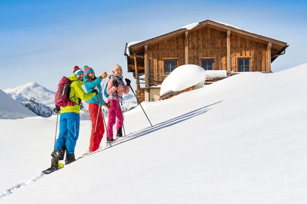 Winterwandern Winterurlaub Flachau 2